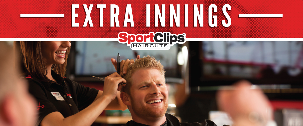 The Sport Clips Haircuts of Palestine Extra Innings Offerings